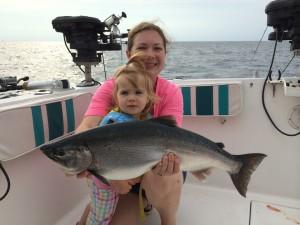 Coho Salmon - TK Fishing Charters Lake Ontario Oswego NY