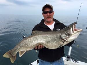 Lake Trout - TK Fishing Charters Lake Ontario Oswego NY