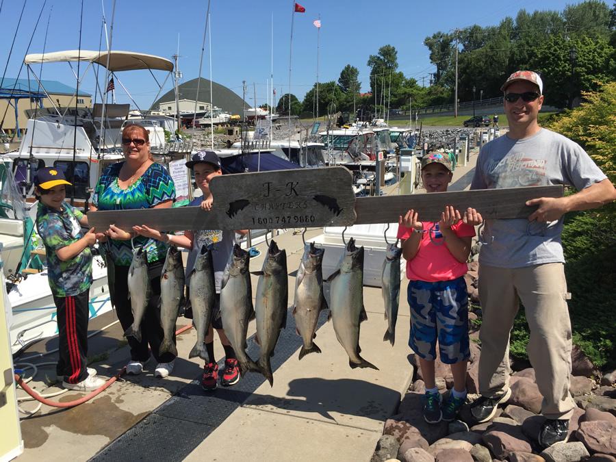 Lake Ontario Fishing Charters 06 24 2016 Tk Charters