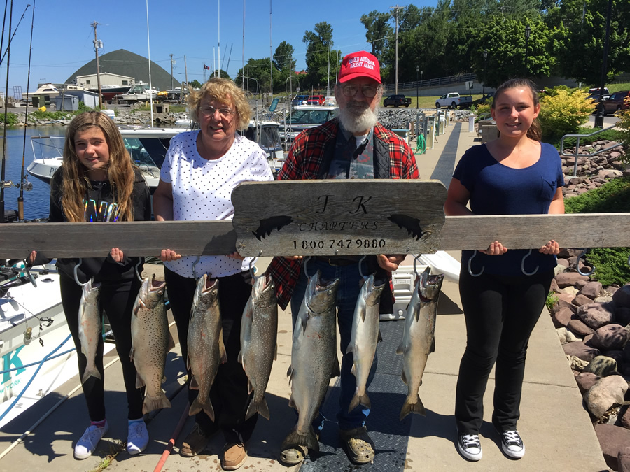 Lake ontario fishing charter 07 03 2016 tk charters for Ny fishing charters