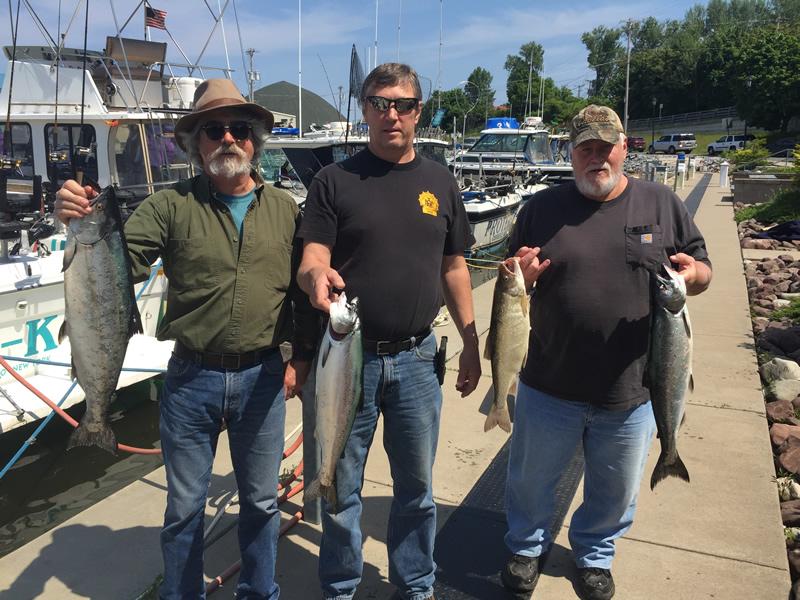 Lake Ontario Fishing Charter 06 10 2017 Tk Charters