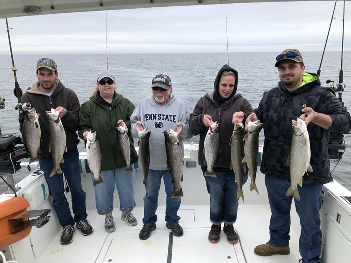 Lake Ontario Fishing Charter 05/29/2019